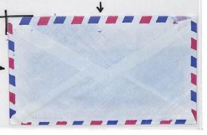 CE190 KENYA Shells KUT 40c SCOUTS Mixed Franking 1973 Air Mail Cover Bideford