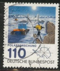 Germany Scott 1353 Used 1981 Polar research stamp