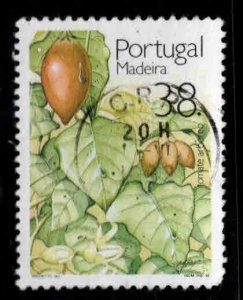 MADEIRA Scott 158 Used  1992 Tree Tomato stamp