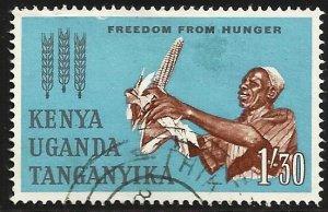 Kenya, Uganda & Tanzania 1963 Scott# 139 Used
