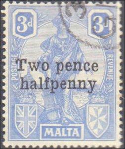 Malta #115, Complete Set, 1925, Used