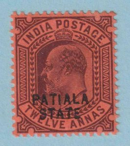 INDIA - PATIALA STATE 39 MINT HINGED OG * NO FAULTS VERY FINE !