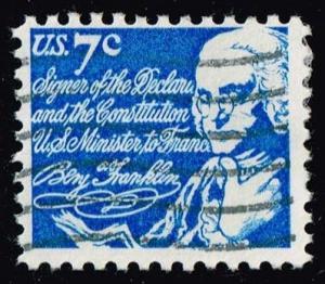 US #1393D Benjamin Franklin; Used (0.25)