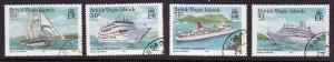Virgin Is.-SC#524-7-used set-1986-Cruise Ships-