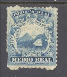 Costa Rica Sc # 1 mint hinged DT)