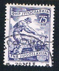 Yugoslavia 353 Used Lumbering (BP16011)