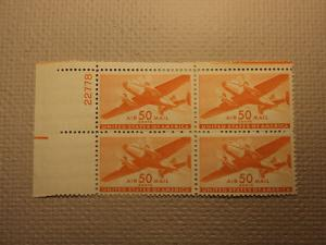 USPS Scott C31 50c Air Mail Transport Plane 1941 Mint NH ...