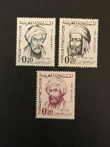 Morocco 1963-66 #86-8, MNH, CV $1.50