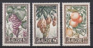 Algeria Sc #229-231 Mint