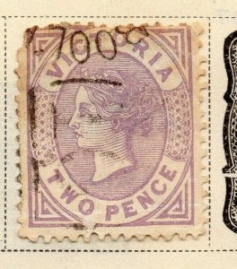 Victoria 1873-81 Early Issue Fine Used 2d. 326799