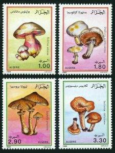 Algeria 908-911,MNH.Michel 1010-1013. Mushrooms,1989.