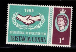 Tristan da Cunha Scott 87 MH* QE2 Co-operation year 1965