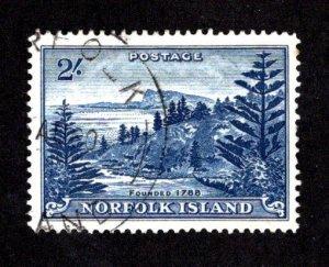 NORFOLK ISLAND  SC# 24  FVF/U