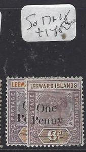 LEEWARD ISLANDS (P1610B)  QV  1D  SURCH  SG 17-8   MOG