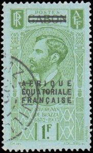 French Equatorial Africa #8, Incomplete Set, 1936, Used