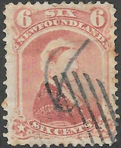 Newfoundland Scott Number 35 F Used