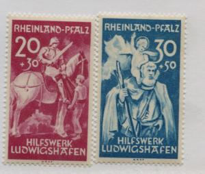 GERMANY   6NB1-2  MNH  COMPLETE SET