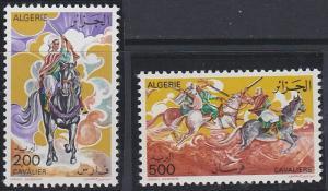 Algeria 599-600 MNH (1977)