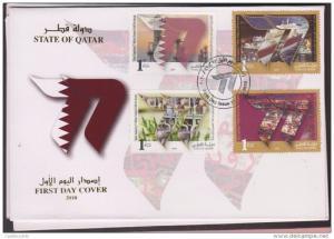 RO) 2010 QATAR,  OIL, PIPELINE, TANKER, SUPPYING 77 MILLION TONNES OF