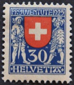 DYNAMITE Stamps: Switzerland Scott #B36 – MINT hr