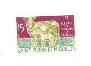St. Pierre and Miquelon Scott 404 NH    [ID#424011]