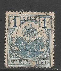 HAITI 38 VFU ARMS P707-4