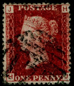 SG44, 1d lake-red PLATE 101, USED. Cat £11. HJ