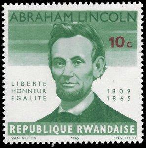 Rwanda 1965 #92 Mint H