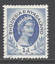 Rhodesia & Nyasaland Sc # 142 used (RS)