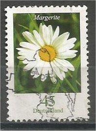 GERMANY, 2005, used 45c, Flowers argerite (daisy). Scott 2313