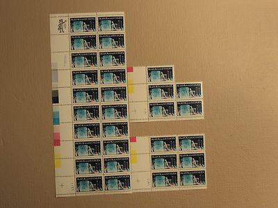 USPS Scott 2087 20c 1984 Health Research Lot Of 3 Plate B...