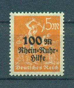 Germany sc# B5 (2) mh cat value $.25