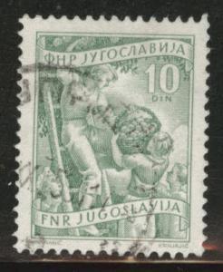 Yugoslavia Scott 382 used stamp