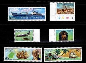 NAURU Scott 108-113 complete 1988 MNH** First Contact set