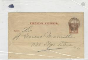 Argentina Early Stamps Cover Wrapper  Ref: R8080