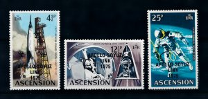 [101884] Ascension 1975 Space travel weltraum OVP Apollo Soyuz link  MNH