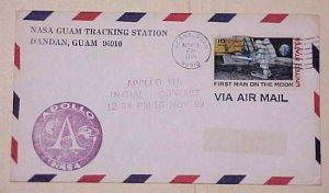US GUAM  AGANA SPACE APOLLO  1969 NOV 15