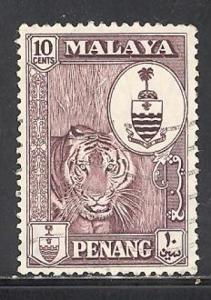 Malaya - Penang Sc # 61 Used