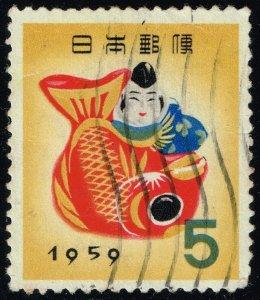 Japan #662 Toy of Takamatsu; Used (3Stars)