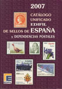 Edifil 2007 Spain & Dependencies, full color, priced in €uros, NEW