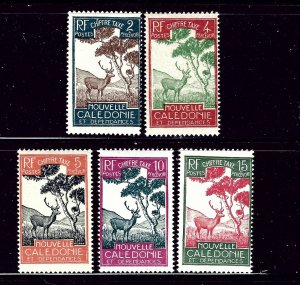 New Caledonia J19-23 MLH 1928 issues