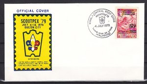 Philippines, Scott cat. C111. Scout Philatelic Expo issue. First day cover. ^