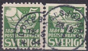 Sweden #236-7 F-VF Used  (Z5226)
