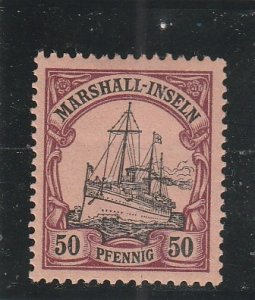 Marshall Islands  Scott#  20  MH  (1901 Kaiser's Yacht)