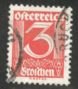 Austria Scott 305 Used stamp from 1925-32 set