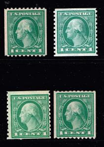 US STAMP MNH COIL STAMP COLLECTION LOT #S3