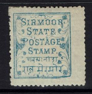 Sirmoor SG# 2 - Mint Hinged (Heavy Hinge Rem) - Lot 062616