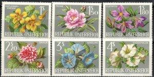 Austria #719-24  MNH  CV $2.85  (X2760)