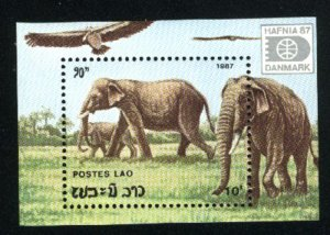 Laos 812   SS Mint NH VF 1987 PD