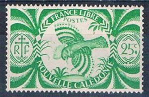 New Caledonia 254 Unused Kagu bird (N0571)+